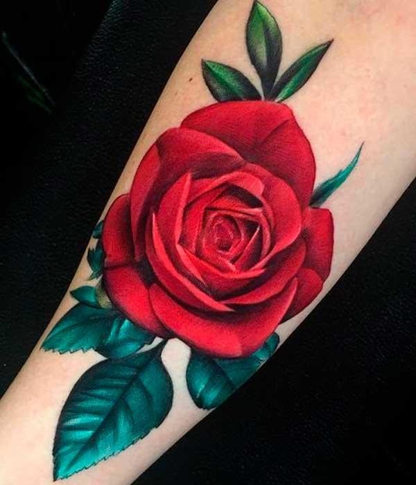 Tatto de rosas