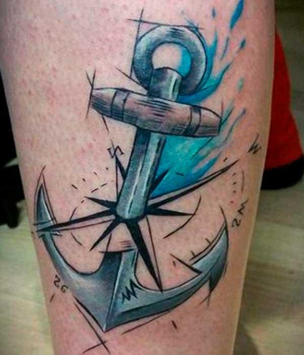 Tatuajes De Anclas Significado Diseños De Tattoos Y Más