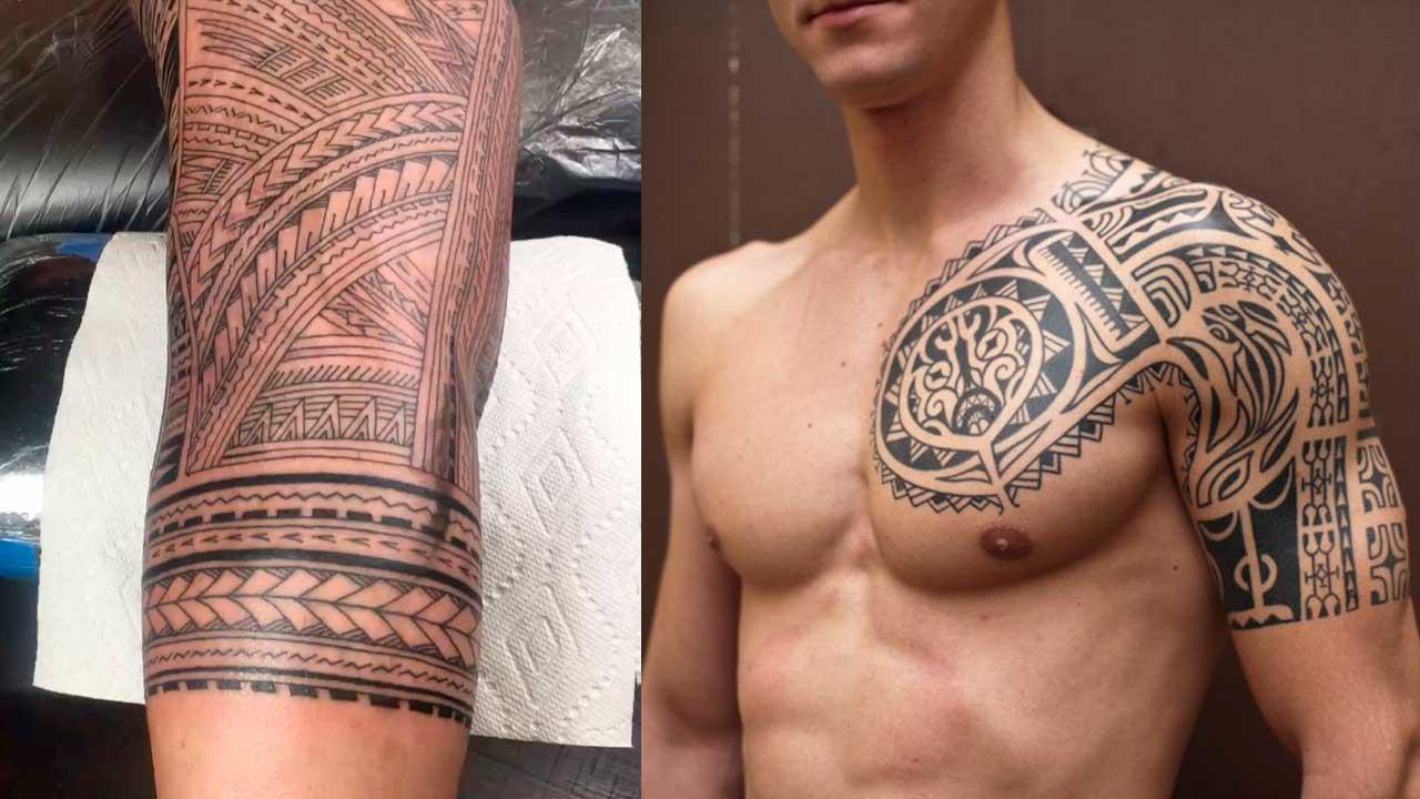 Tatuajes tribales: 🔆 Significado, símbolos, 100+ imágenes ✅