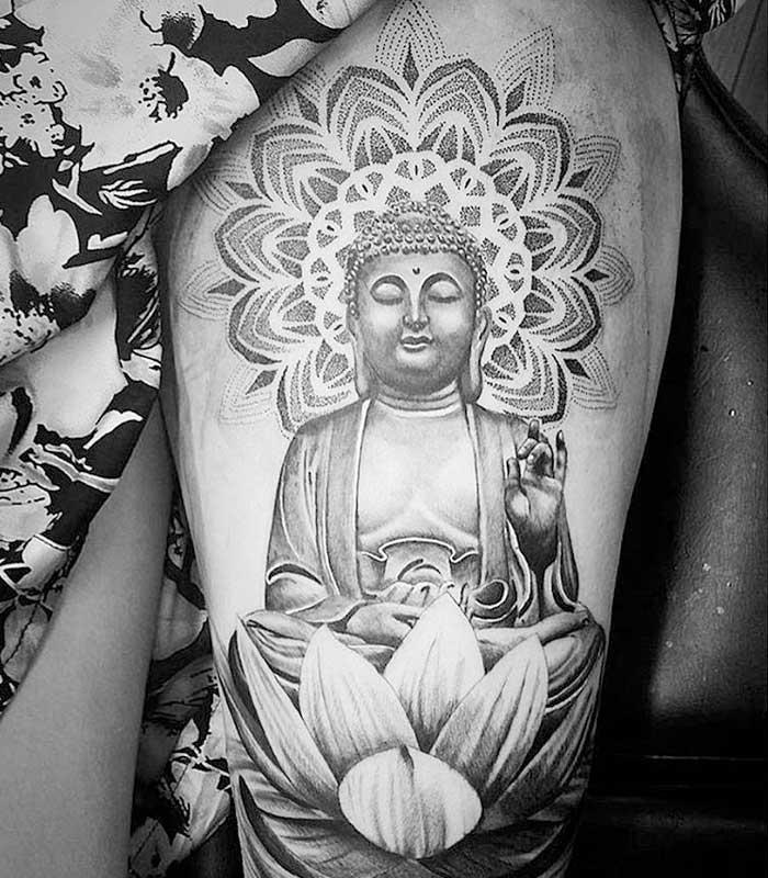 Tatuajes mandalas en el budismo