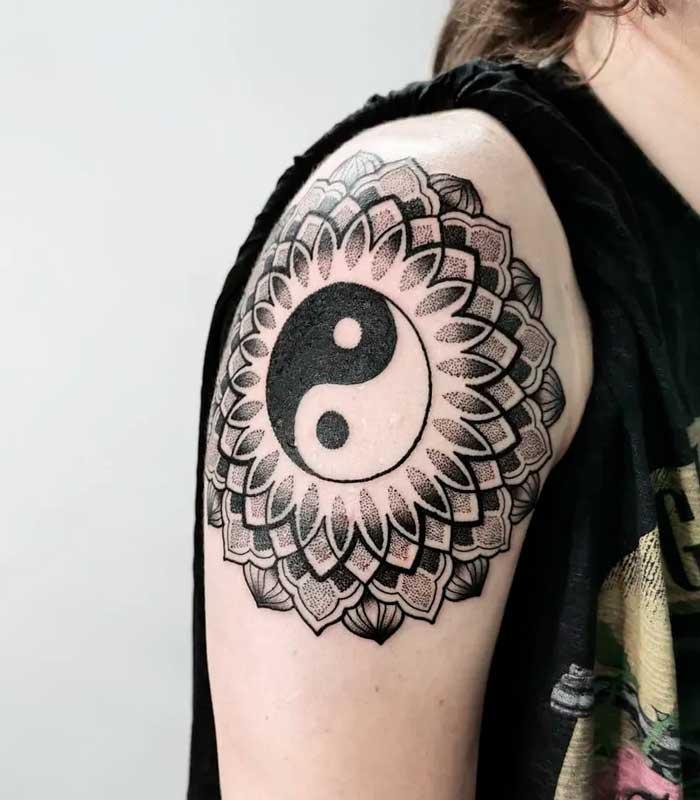 Tatuajes mándalas en el taoísmo