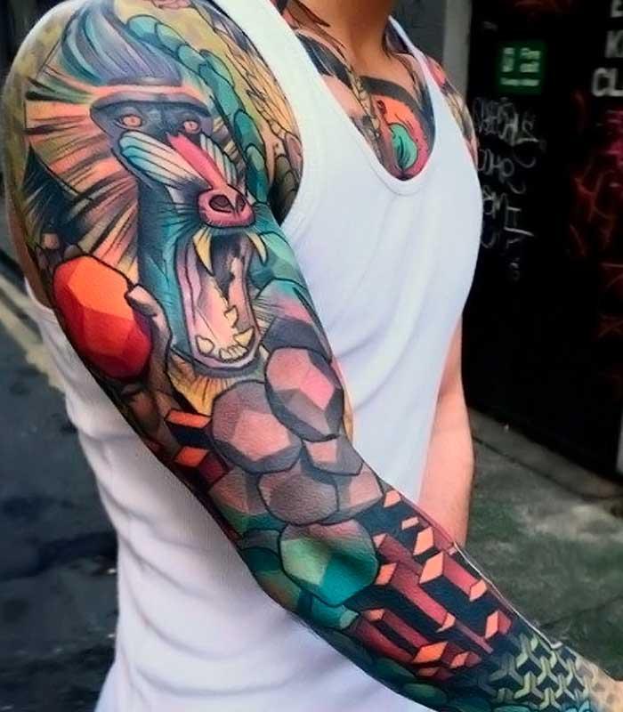 tatuajes a colores