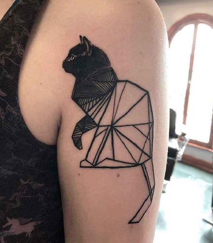 tatuajes de gatos para hombres