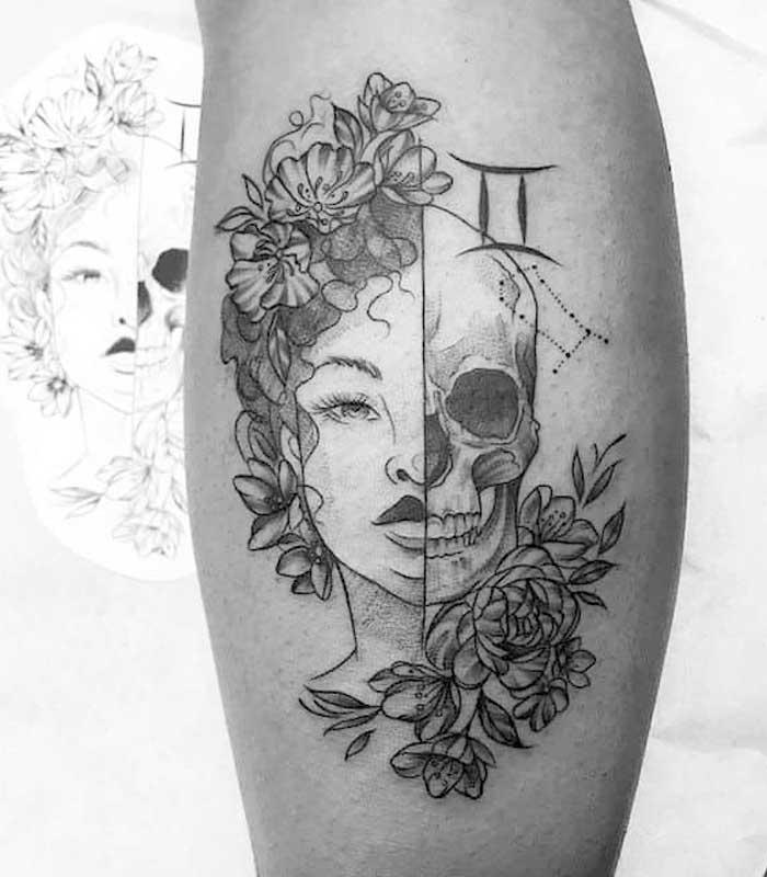 tatuajes geminis para hombres