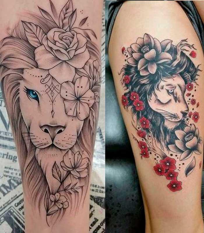 tatuajes leo para mujeres
