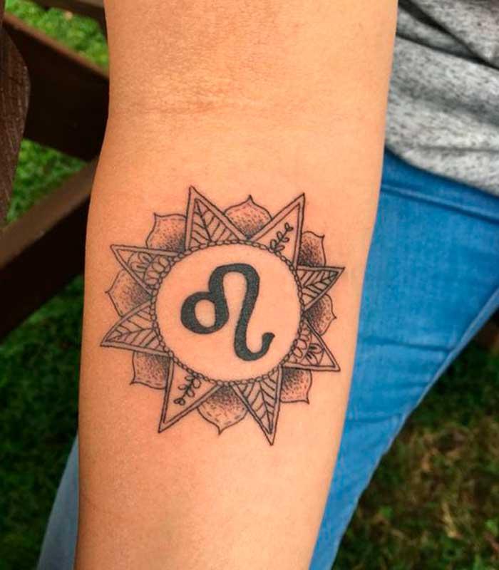 tatuajes leo para hombres