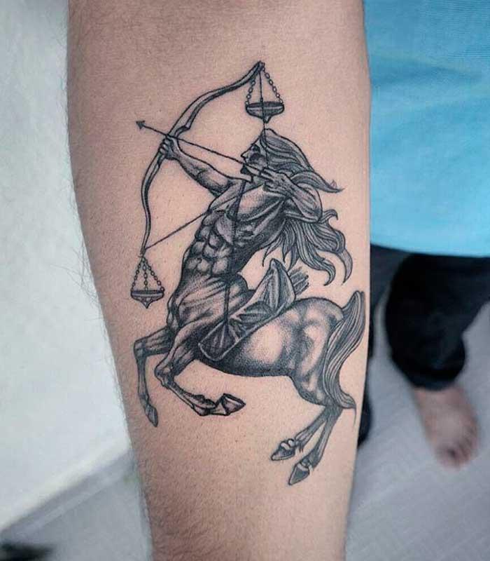 tatuajes sagitario para hombres