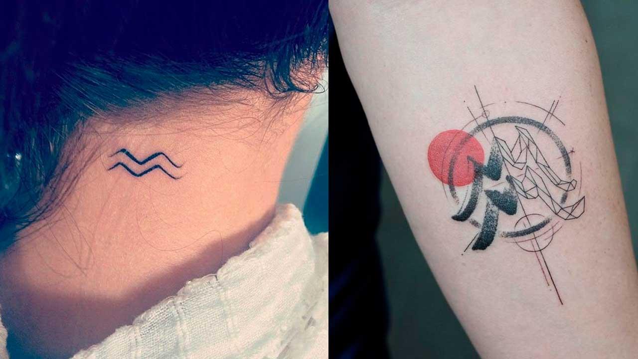 tatuajes acuario