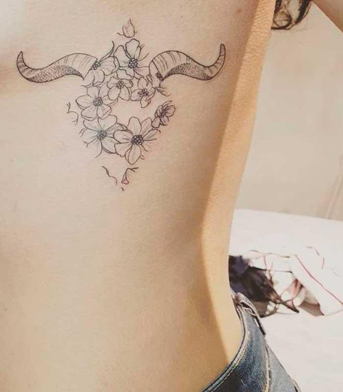 tatuajes capricornio para mujeres