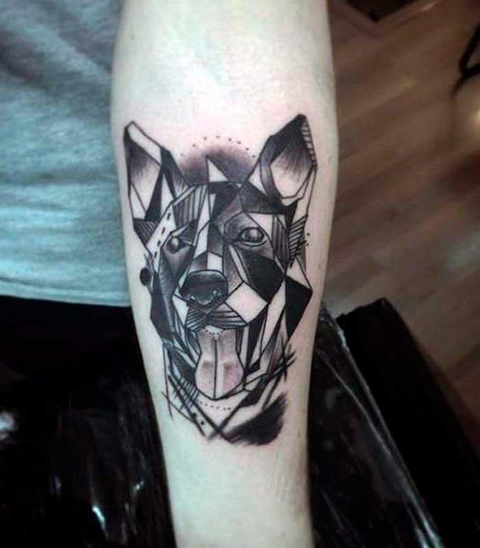 tatuajes de perros para hombres