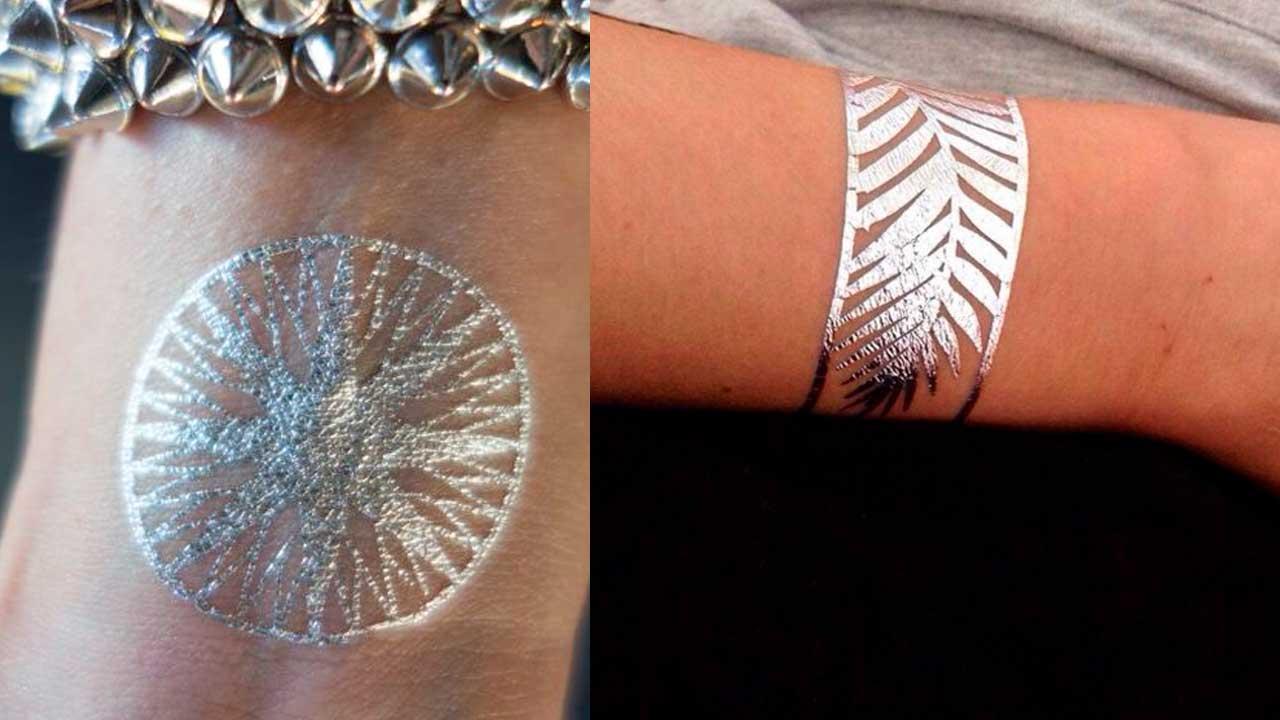 tatuajes plateados
