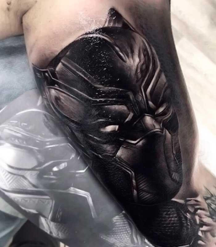 tatuajes de black panther