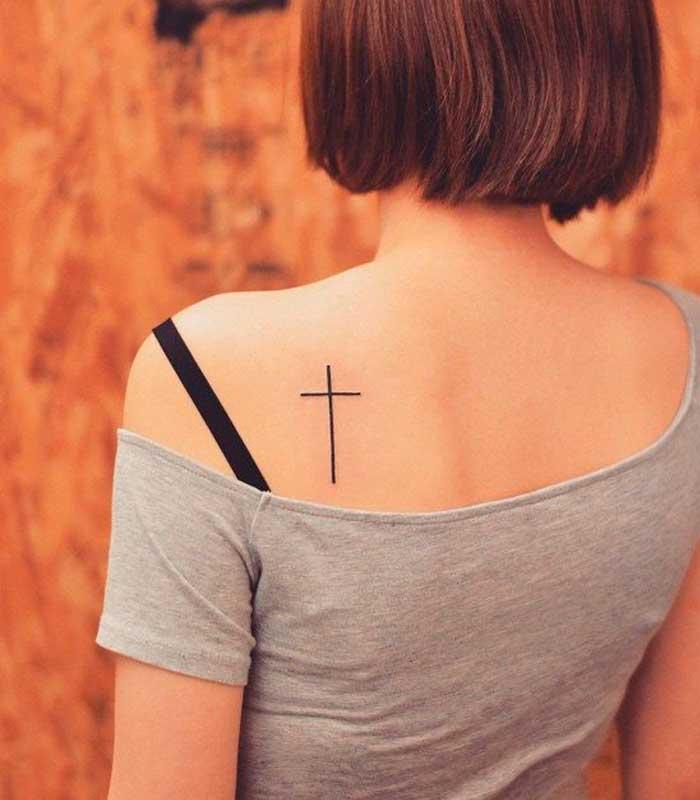 significado de tatuajes de cruces