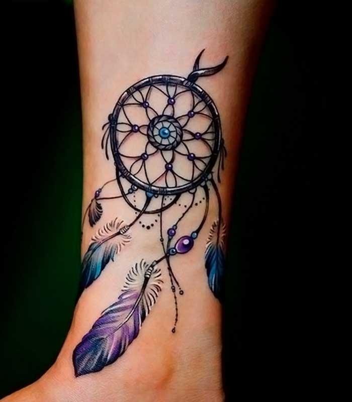 significado de tatuajes de atrapasueños