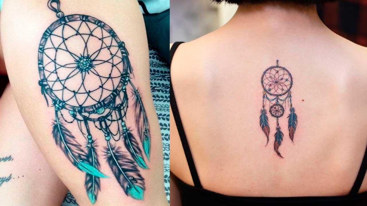 Tatuajes de atrapasueños con significado y diseños 🎐