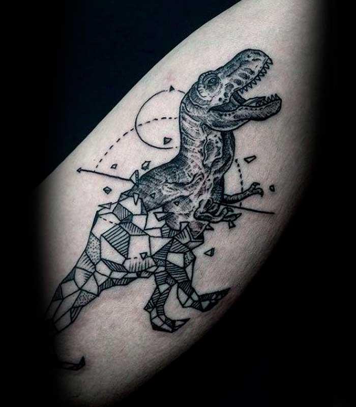 tatuajes de dinosaurios para hombres