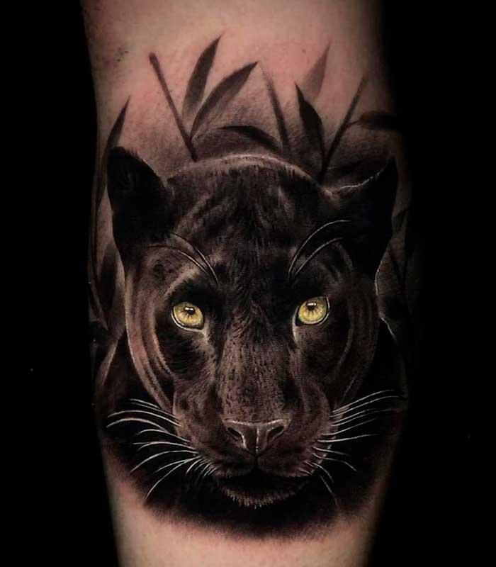 tatuajes de pantera y significado