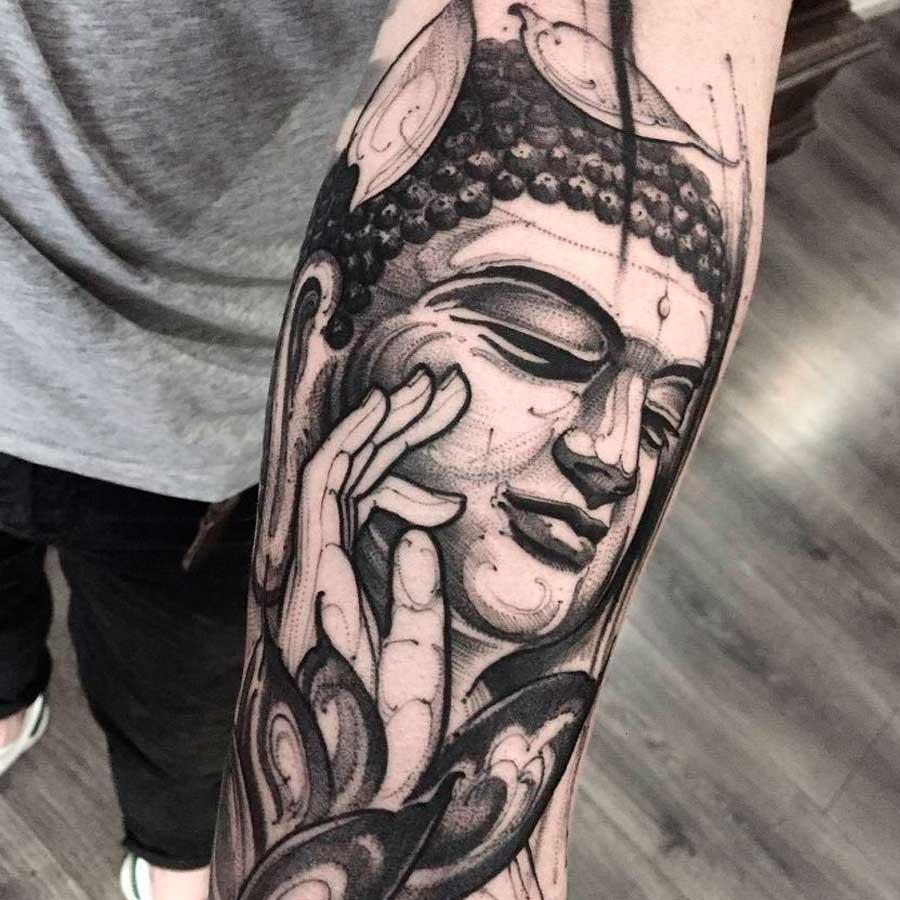 Tatuajes budistas 🕍 significado y diseños originales