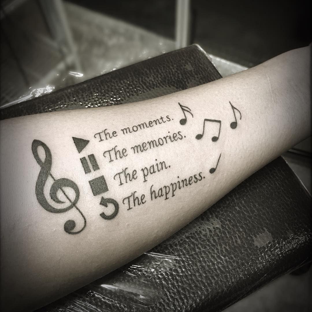 【Tatuajes de música】 🎶 Significado y mejores diseños ✔️