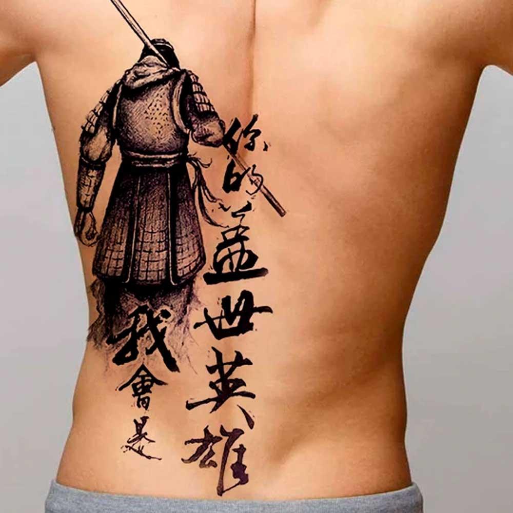 【Tatuajes chinos】 🇨🇳 Significado, ideas + 100 imágenes ✔️